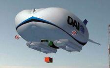 HAV-3 Hybrid Air Vehicles UK HAV3 Airship Wood Model Replica Large Free Shipping