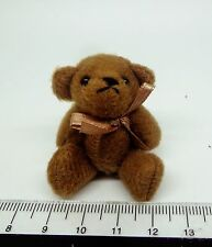 1/12 Scale Brown Bear Dolls House Miniatures Toy