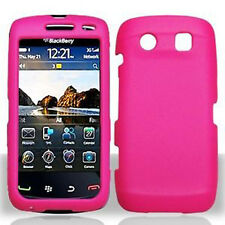 H Pink Rubberized Hard Case Cover BlackBerry Torch 9850 9860 9570