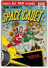 TOM CORBETT SPACE CADET VOL.2 #3 3.0 OFF-WHITE PAGES GOLDEN AGE