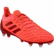 XP Botines De Fútbol Adidas Predator Para Hombre Casual Botines De Fútbol-Rojo