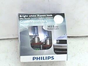 Philips Cornering Light-CrystalVision Ultra Twin Pack fits 08-11 Porsche Cayenne