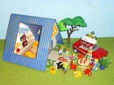 3220 Ferienhaus + PKW Dachgepäck Figuren viel Zubehör zu 9266 5574 Playmobil 240