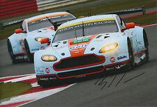 Bruno SENNA SIGNED 12x8 Photo AFTAL COA Autograph Aston Martin WEC Silverstone