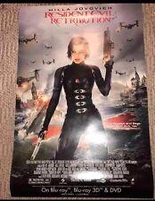 "Milla Jovovich Resident Evil Retribution Poster 24"" X 36"""