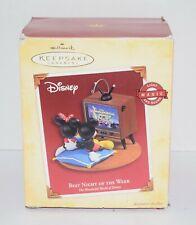 Hallmark Keepsake Ornament Disney Best Night Of The Week Mickey & Minnie