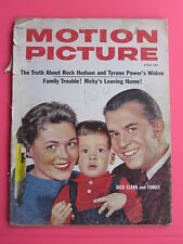 DICK CLARK 1959 MOTION PICTURE magazine MARILYN MONROE