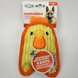 Outward Hound Invincibles Minis Chicky Dog Toy - chicken - NEW SHIPS FROM USA