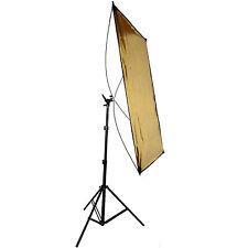 Reflector Bandera Profesional DynaSun RE2018 2en1 Plata Oro 70x110cm con Trípode