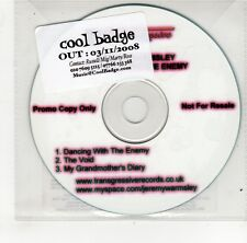 (GO107) Jeremy Warmsley, Dancing With The Enemy - 2008 DJ CD