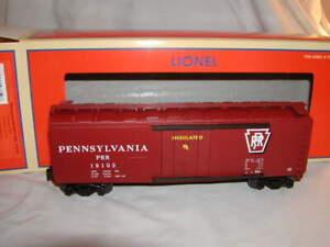 Lionel 2143081 Plug Door PRR Boxcar #19103 Standard O New 2021 MIB Pennsylvania