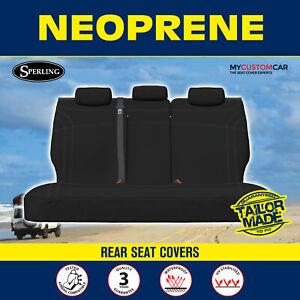 FORD FAIRMONT BA GHIA SEDAN 2002-2005 Custom Neoprene Rear Seat Covers