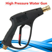 M22 3000PSI Connector Car Yard High Pressure Water Washer Gun For Pressure Power