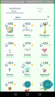 Pokemon level 28 account go , Shiny Jigglypuff, shiny shadow ekans,Dratini &more