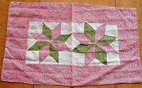 AUTHENTIC  STAR DOLL QUILT  1880 - TABLE DECO -  WALL DECO - CHILDS FARM QUILT
