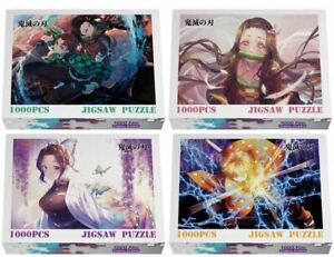 Anime Demon Slayer Kimetsu no Yaiba Wooden Jigsaw Puzzle Gift Tanjiro Nezuko