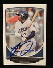 TRAVIS DEMERITTE 2013 BOWMAN TOPPS AUTOGRAPHED SIGNED AUTO BASEBALL CARD BDPP28