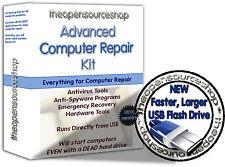 Recupera, Rescue & Ripara Windows - 210 programmi avviabile STARTUP USB Flash Drive