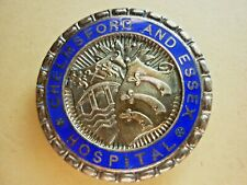 More details for vintage hallmarked silver nursing badge chelmsford and essex hospital c1946
