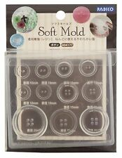 PADICO Soft Mold Resin & Clay Button UV Resin Japan