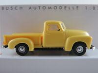 Busch 48283 Chevrolet Pick-Up (1950) in gelb 1:87/H0 NEU/OVP