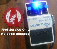 Mod Service Only (No Pedal Included) Boss DD-3 Digital Delay Alchemy Audio