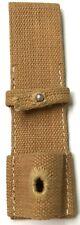 WWII GERMAN K98 98K RIFLE BAYONET BAYO CARRY FROG SHEATH-DAK TROPICAL WEBBING