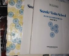Group Of 4 VIOLIN BOOKS