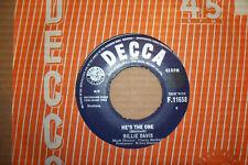 BILLIE DAVIS,  HE'S THE MAN,  DECCA RECORDS 1963  EX/EX+