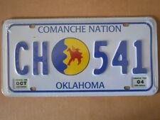 Targa Americana OKLAHOMA CH-541 COMANCHE NATION  31x16 cm -Più basso di EBAY
