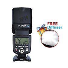 Yongnuo YN-560IV Flash Speedlite For Canon Nikon trigger system EOS camera
