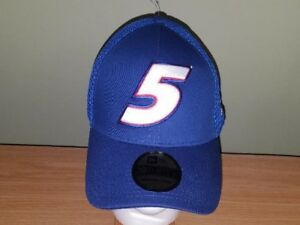 Kasey Kahne New Era Blue #5 Fitted M/L New Hat Free Shipping