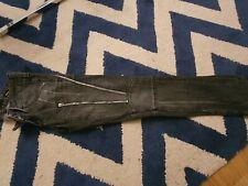 miss sixty black jeans style rocker size 25