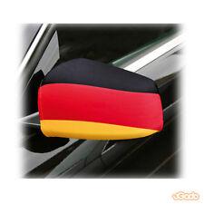 2x Außenspiegelfahne Deutschland Auto Flagge Fahne Autospiegel Überzug