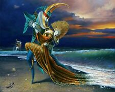 HD Canvas Print home decor wall art painting,michael cheval-162020 16x20inch