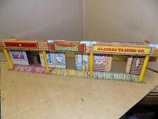 Marx Alaskan play set trading post tin building