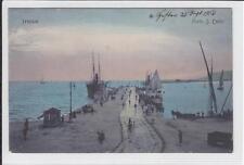 AK Trieste, Triest, Hafen, Molo S. Carlo, 1912