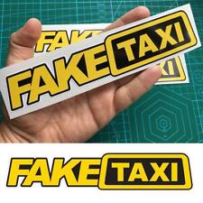 3x Fake Taxi Sticker Vinyl Decal Car Turbo JDM Window Drift Funny Tuning geg A