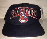 Vtg Cleveland Indians Carlos Baerga STARTER Snapback hat cap rare 90s NWT MLB
