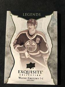 2017-18 Upper Deck Exquisite Collection #30 Wayne Gretzky Edmonton Oilers /99