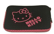 Hello Kitty Soft Laptop Sleeve Case Black/Pink Zipper Free Shipping