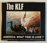 "THE KLF : AMERICA : WHAT TIME IS LOVE ? (12"" MIXES - 5-TK) ♦ MAXI-CD ♦"
