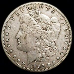 1892-S Morgan Silver Dollar San Francisco in VF/XF Condition