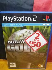 Outlaw Golf 2 - Sony PS2 PAL - Includes Manual