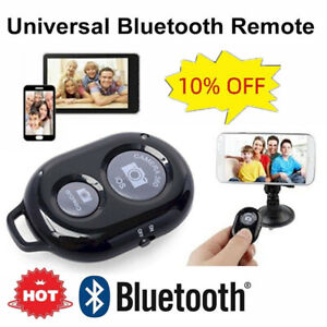 Wireless Bluetooth Remote Control Camera Shutter For iPhone Android Ph iPad  Hot