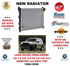 Para Land Rover Freelander LN 1.8 16V 2.5 V6 2.0 Td4 4x4 1998 - > 2006 Nuevo Radiador