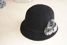 Chapeau noir neuf 56 cm marque CATCH ME
