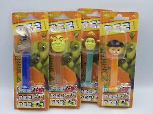 FIGURINE Distributeur Bonbon PEZ lot Dreamworks SHREK 2 collection 2006