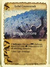 A Game of Thrones LCG - 1x Lethal Counterattack #S158 - Ice and Fire Draft Pack