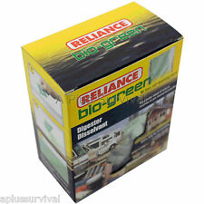 72 Pack Bio-Green Toilet Chemicals for Portable Honey Bucket Toilets Camping Kit